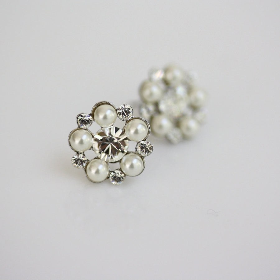 Paris Stud Bridal Earrings - Lulu Splendor