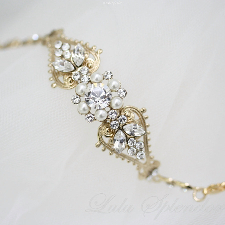 Paris Bridal Bracelet - Lulu Splendor