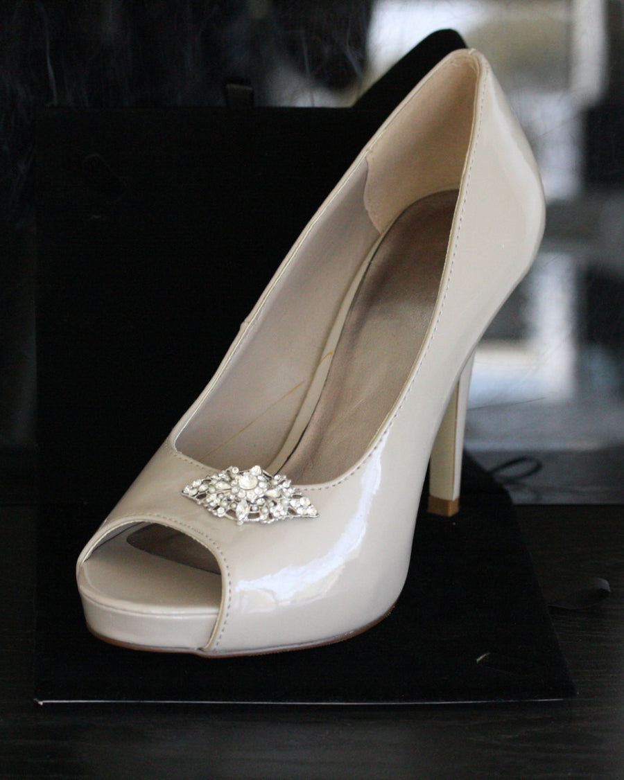 MARCELLA BRIDAL SHOE CLIPS - Lulu Splendor