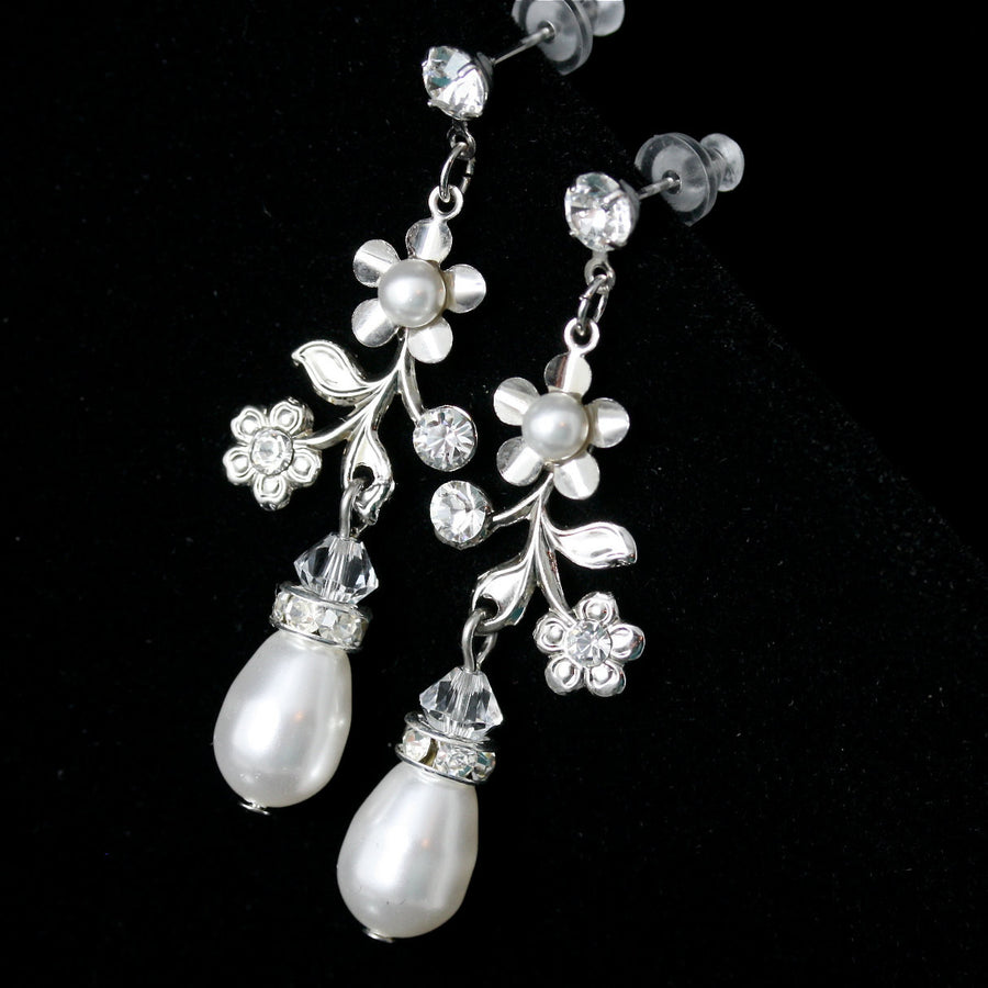 Sabine Garden Bridal Earrings