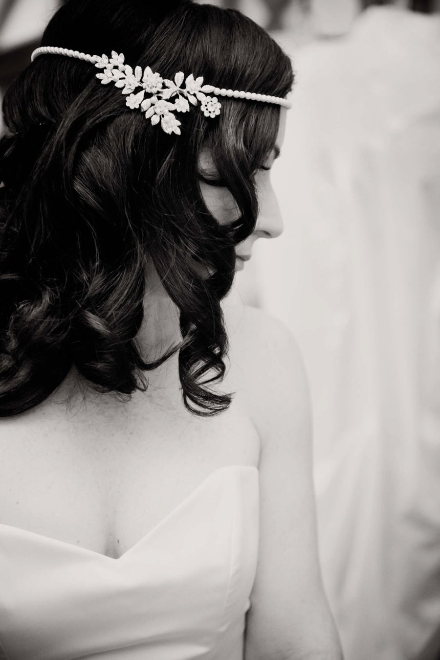 IVY BRIDAL HEAD PIECE - Lulu Splendor