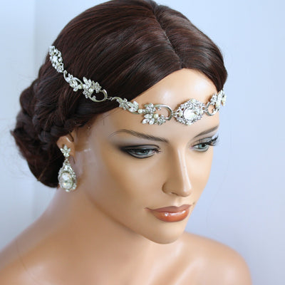 Ryan Crystal Showstopper Bridal Headpiece - Lulu Splendor