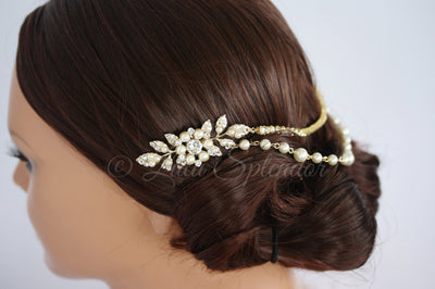 AMBRIA WEDDING HEADPIECE - Lulu Splendor
