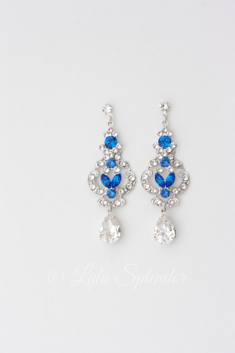 FRANCES MID WEDDING EARRINGS - Lulu Splendor