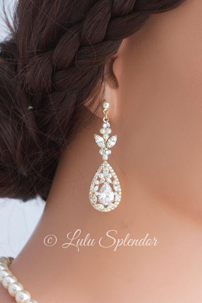 Vivienne Bridal Earrings