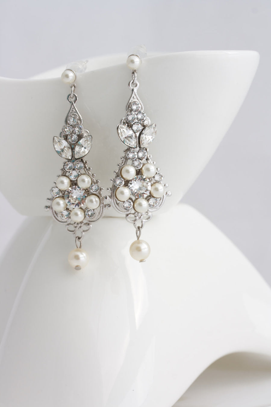 Paris Wedding Earrings - Lulu Splendor