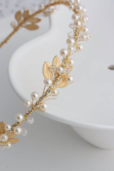 EDERA BRIDAL HEADBAND - Lulu Splendor