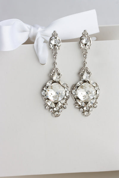 Estella Wedding Earrings - Lulu Splendor