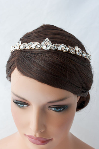 Aggie Wedding Tiara - Lulu Splendor