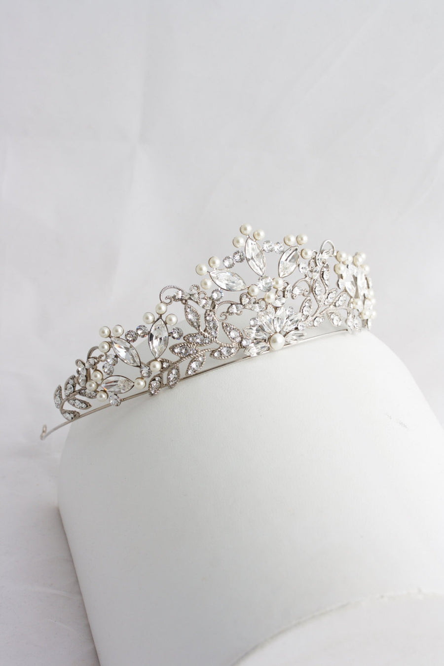 Aislinn Crystal Wedding Tiara - Lulu Splendor