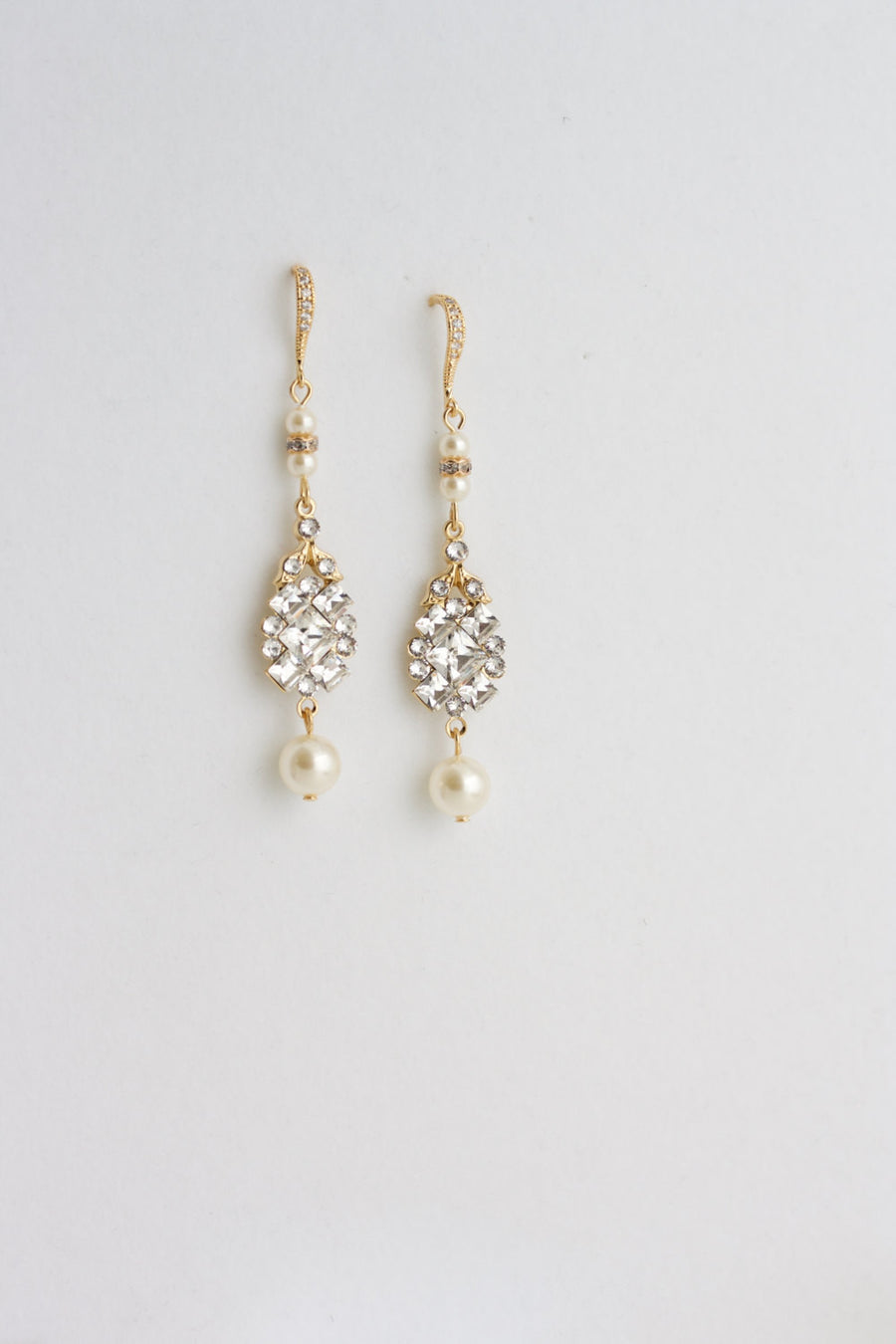 ANNA WEDDING EARRINGS - Lulu Splendor