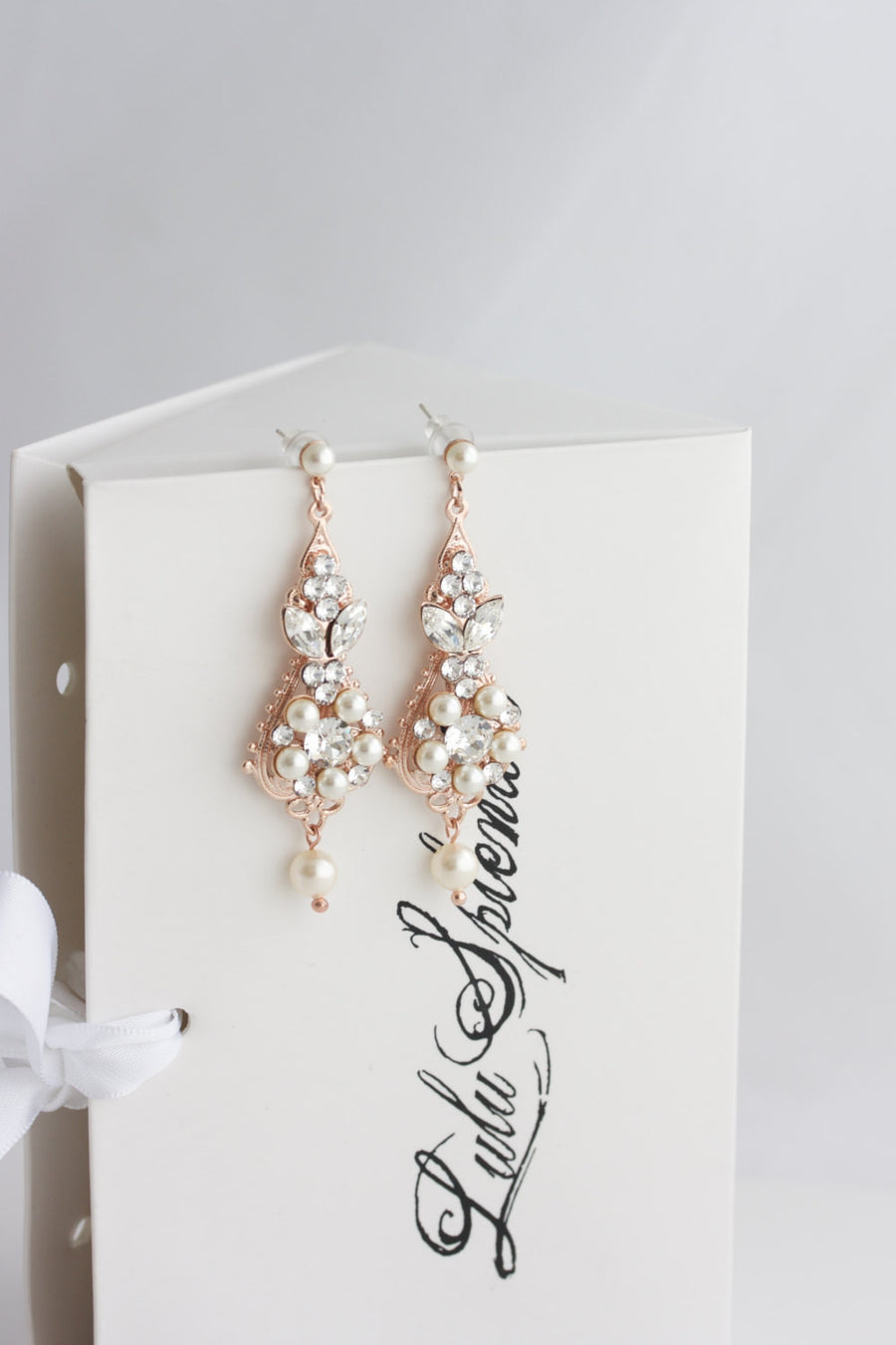 Paris Bridal Earrings - Lulu Splendor