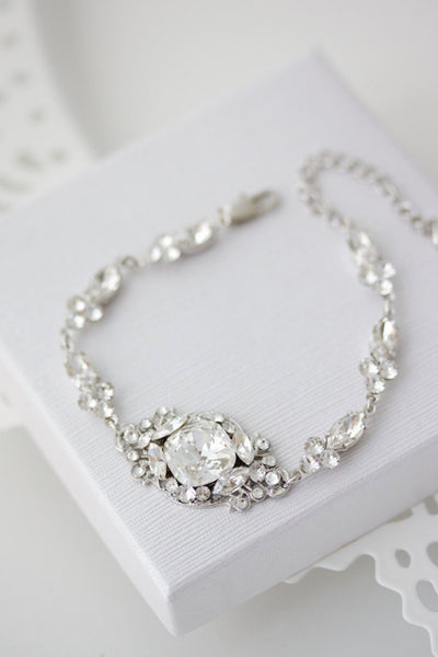 Estella Delux Crystal Wedding Bracelet - Lulu Splendor