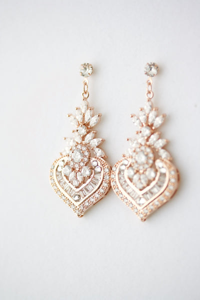 Evie Bridal Earring Drops
