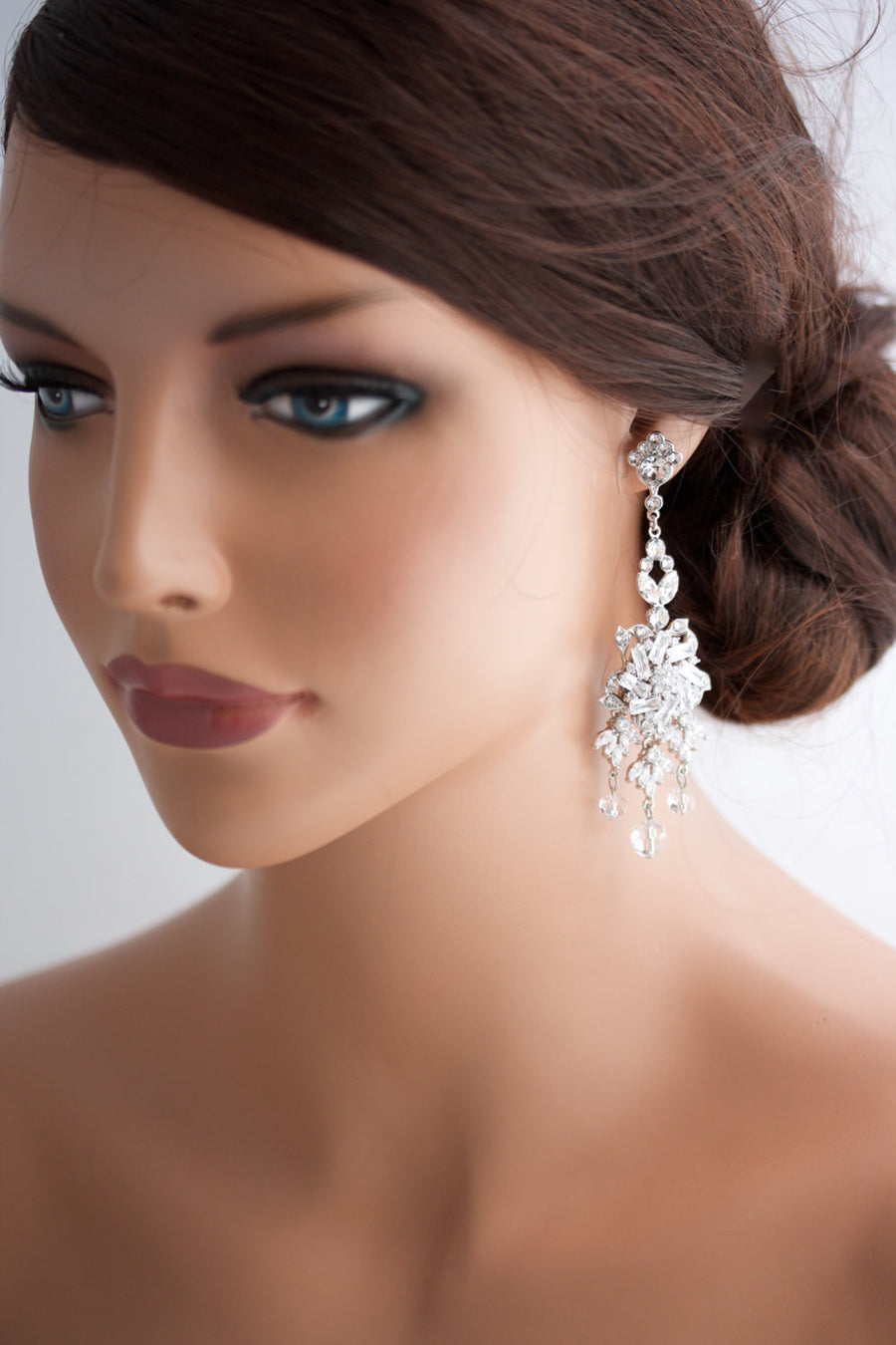Gold Ainslie Bridal Earrings - Lulu Splendor