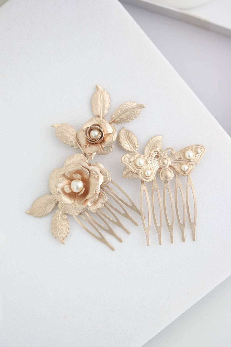 Ingrid Bridal Hair Comb - Lulu Splendor
