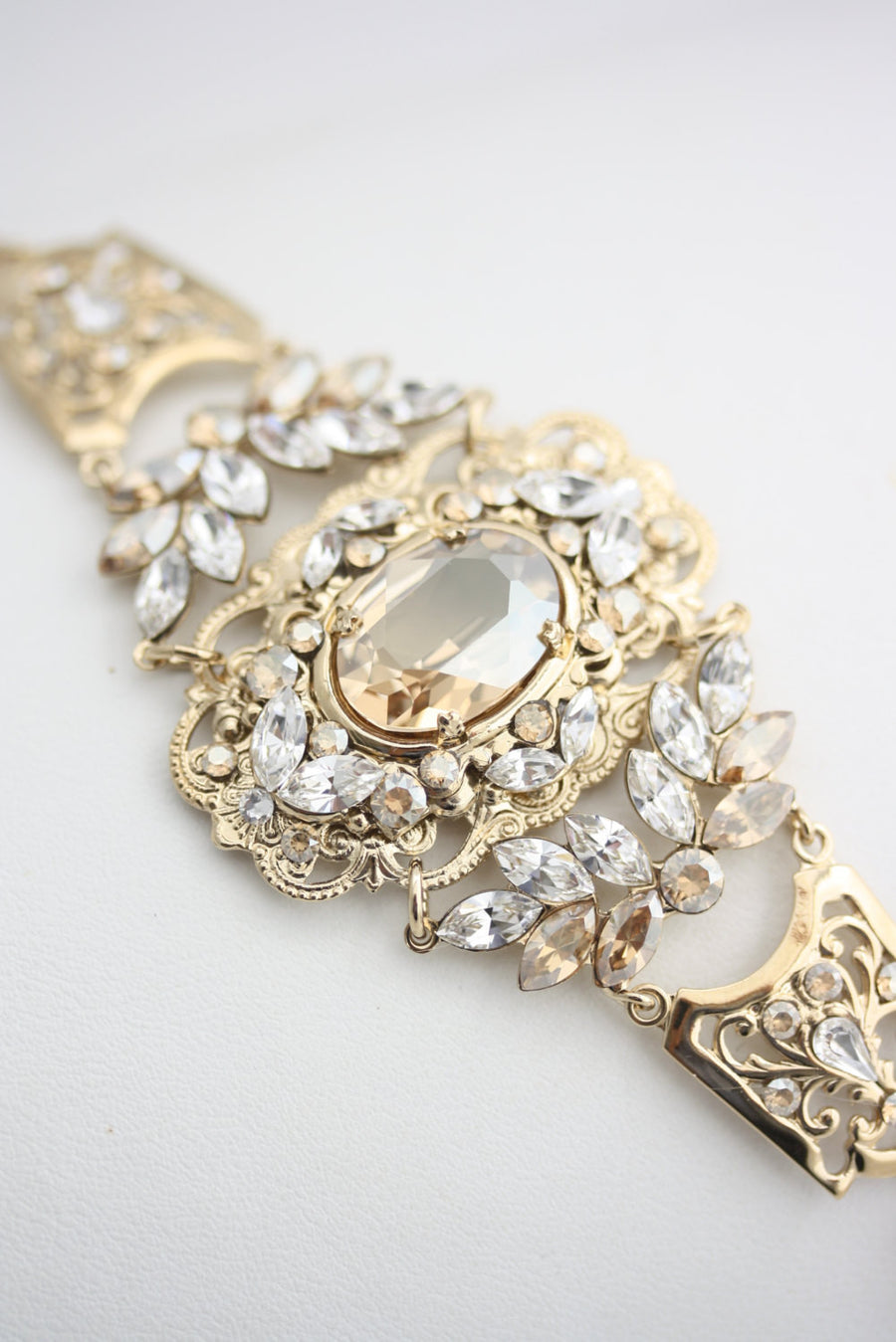 Ryan Gold Wedding Bracelet - Lulu Splendor