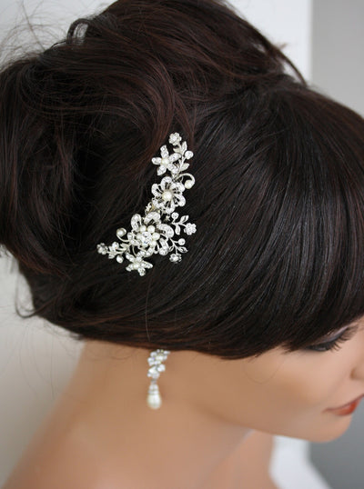 Sabine Vintage Flower Bridal Hair Comb