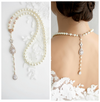 Vivienne Bridal Backdrop Necklace