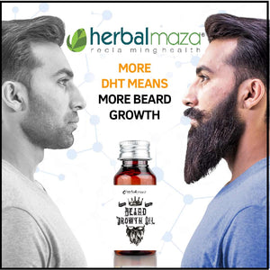 Herbal Maza Beard Growth Oil - 35 ml Pack of 1