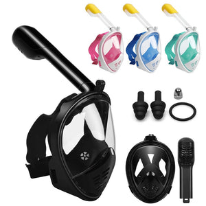 SnorkTEK - Full Face Snorkel Set - OfferOutlet