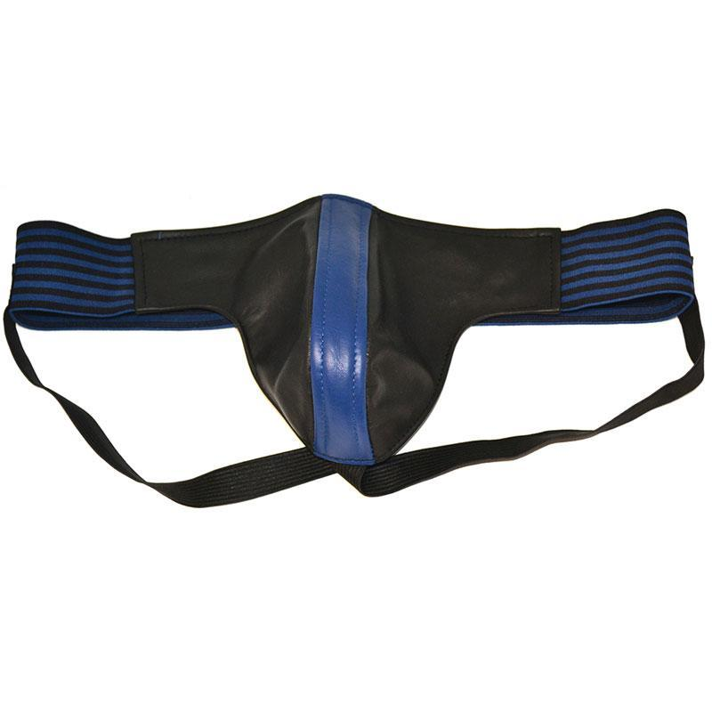 Rouge Garments Jock Black And Blue-Large