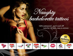 Tattoo Set Naughty Bachelorette