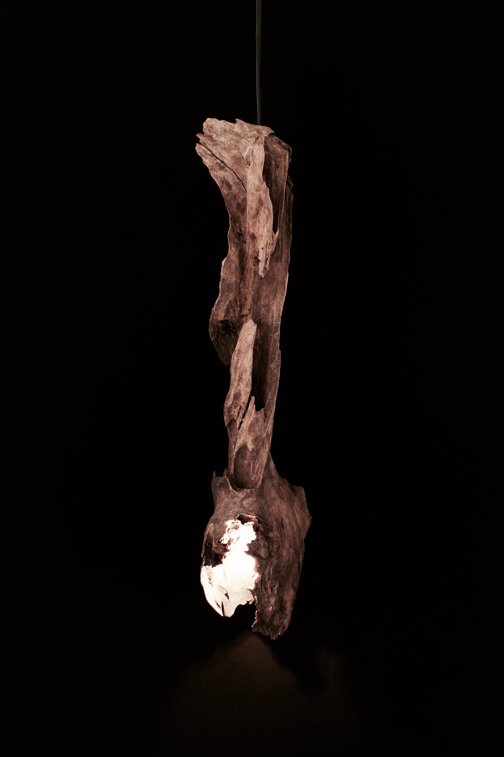 Hanging Driftwood Lantern - 4.5 Billion
