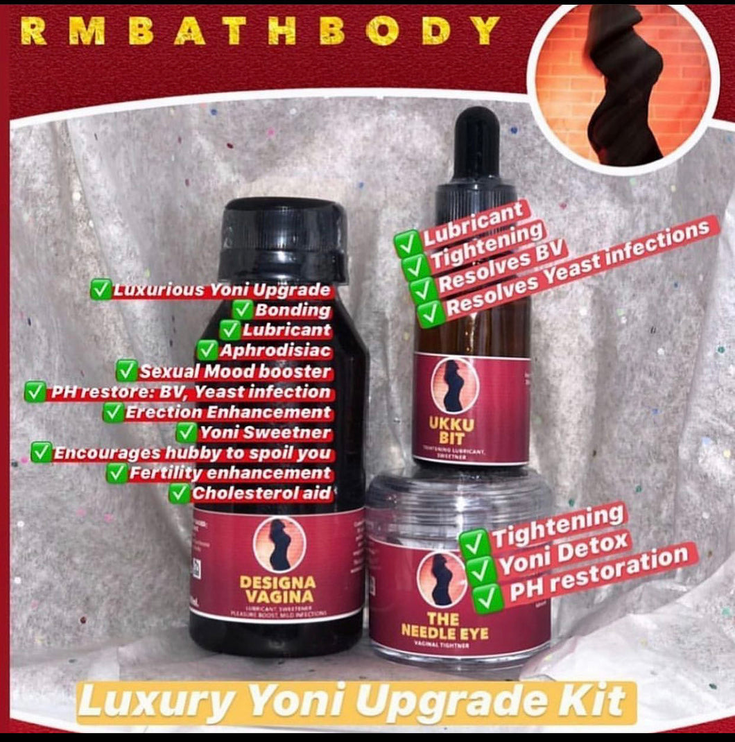 Luxury Yoni Upgrade Kit