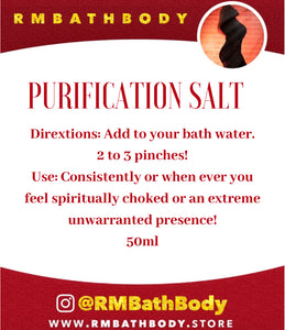 Purification Salt