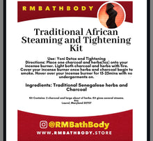 Load image into Gallery viewer, Traditional African Womb Steam & Tightening system