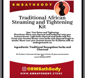 Traditional African Womb Steam & Tightening system