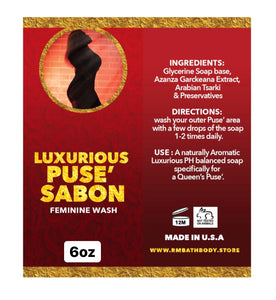 Luxurious Puse' Sabon