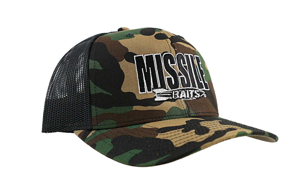 Missile Baits Camo Hat - Missile Baits - best bass lure