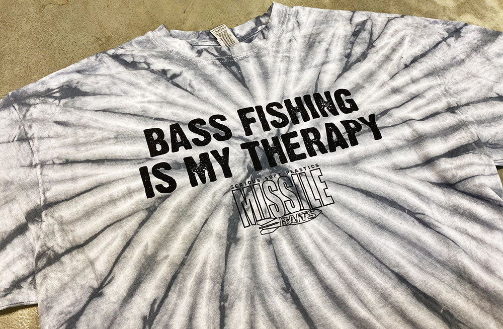 Missile Baits - Bass Fishing Is My Therapy - T-Shirt - Missile Baits