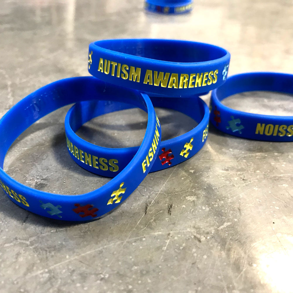 Autism Awareness Bracelet - Missile Baits - best bass lure