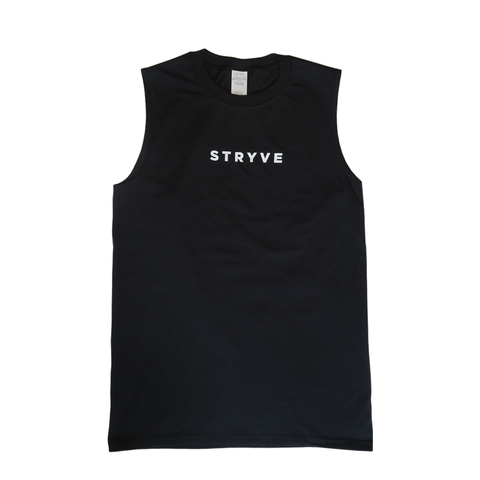 Black STRYVE Cut Off