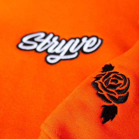 Caution Orange STRYVE Hoodie