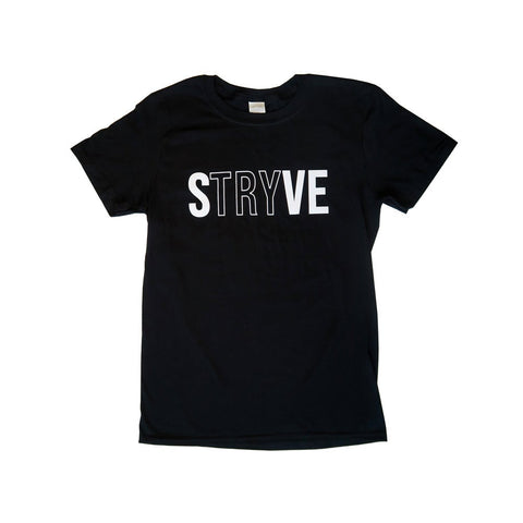 Black STRYVE T-Shirt