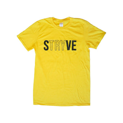 Yellow STRYVE T-shirt