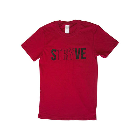 Red STRYVE T-shirt