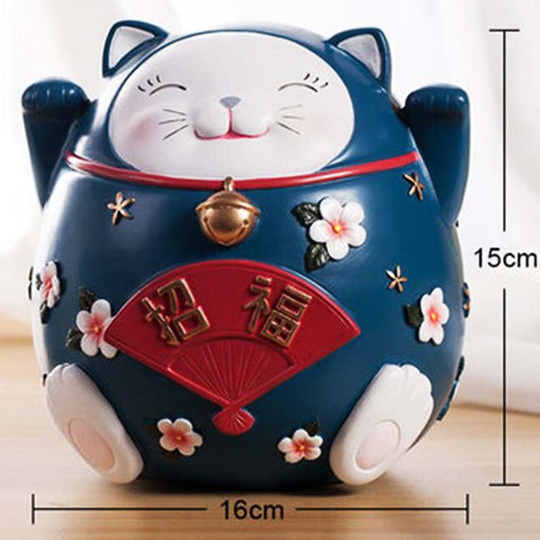 chat tirelire chinois