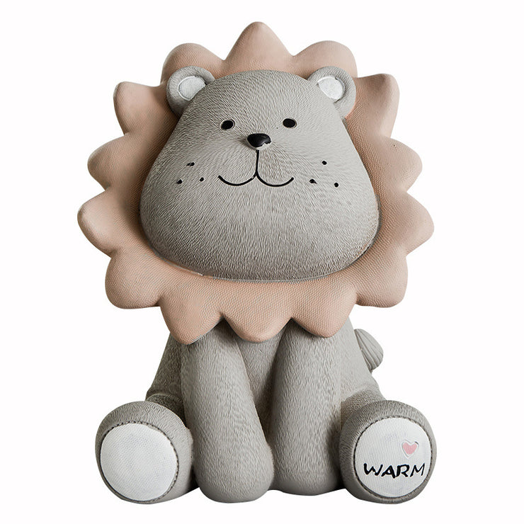 Tirelire Lion Enfant