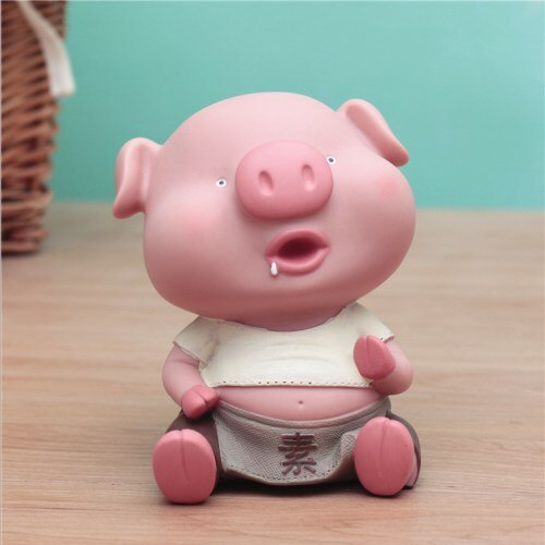 Cute Pig Piggy Bank Child Money Box Saving Cash Coin Money Box Children Toy Kids Gifts Home Decoration Accessories