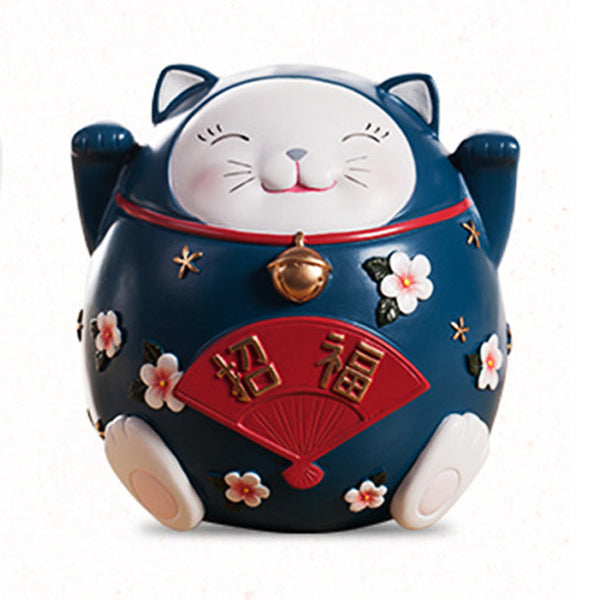 tirelire chat chinois