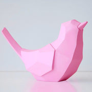 tirelire design oiseau rose
