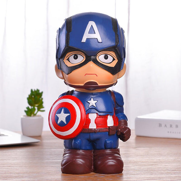 tirelire marvel captain america