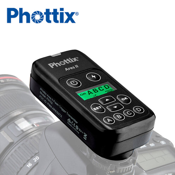 89552 Phottix Ares II Flash Trigger Transmitter