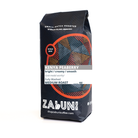 *NEW* Peaberry - Medium Roast Kenyan