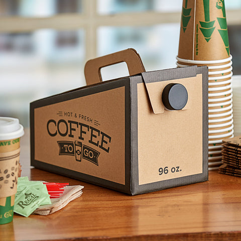 Hot Coffee To-Go Box